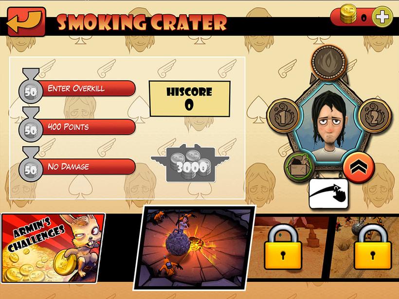 Diseño y desarrollo Flash Scaleform para juegos en Unreal 2