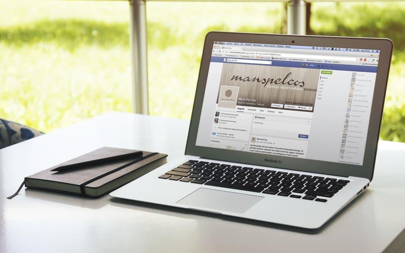 Proyecto Identidad Corporativa para - Manspelcos || Centre de teràpies naturals -1