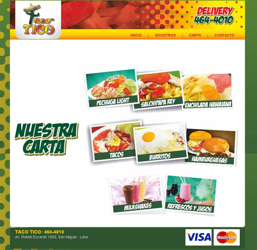 Web Taco Tico 2