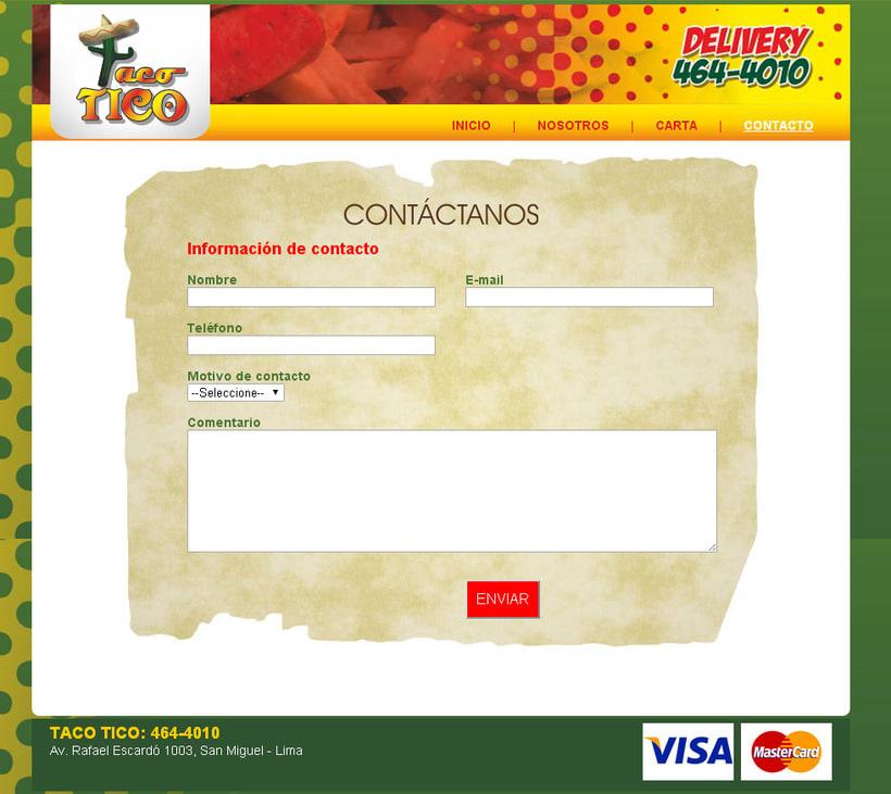 Web Taco Tico 3
