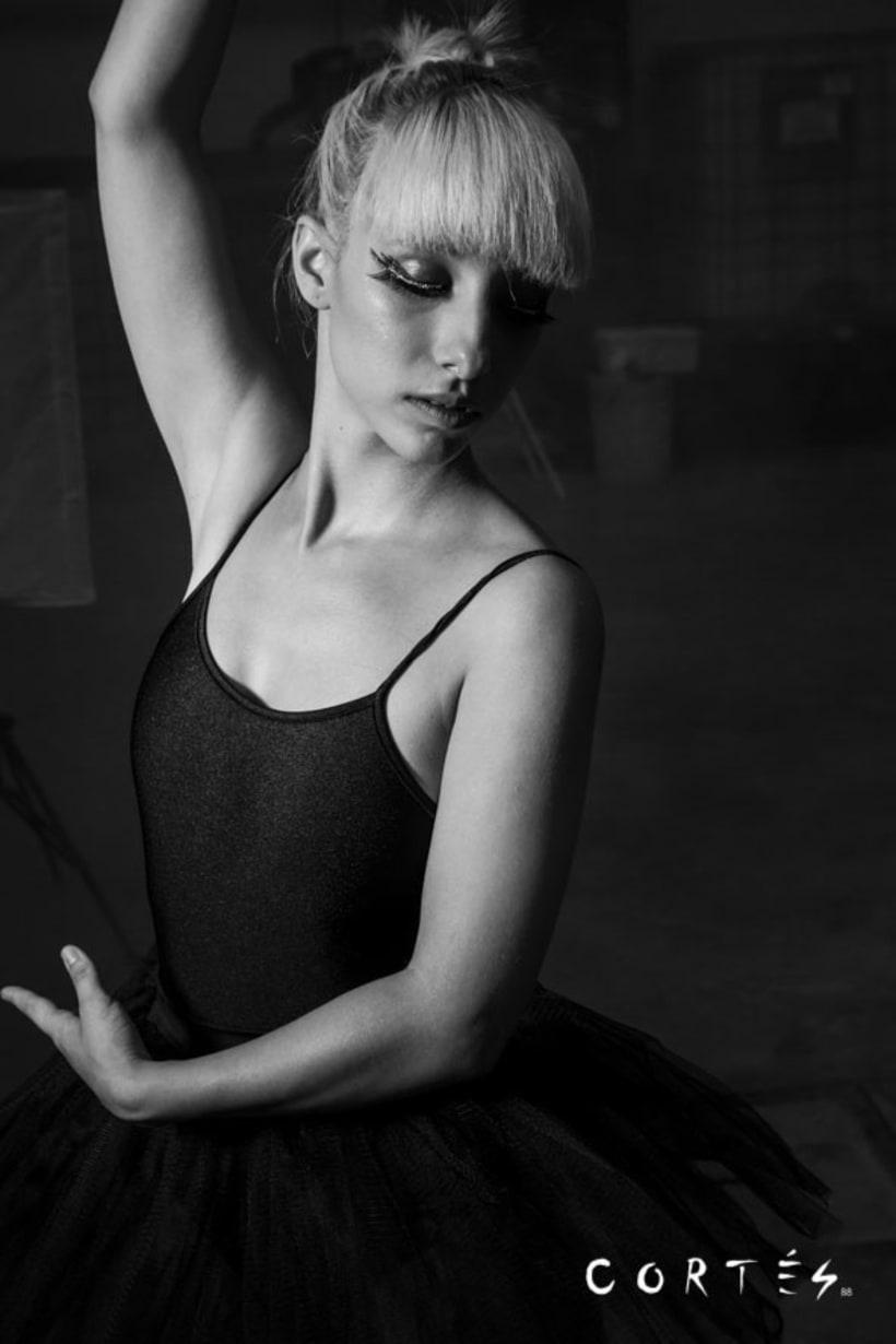 Sesión Black Dance con Fernando Cortés y Yuki Hime model -1