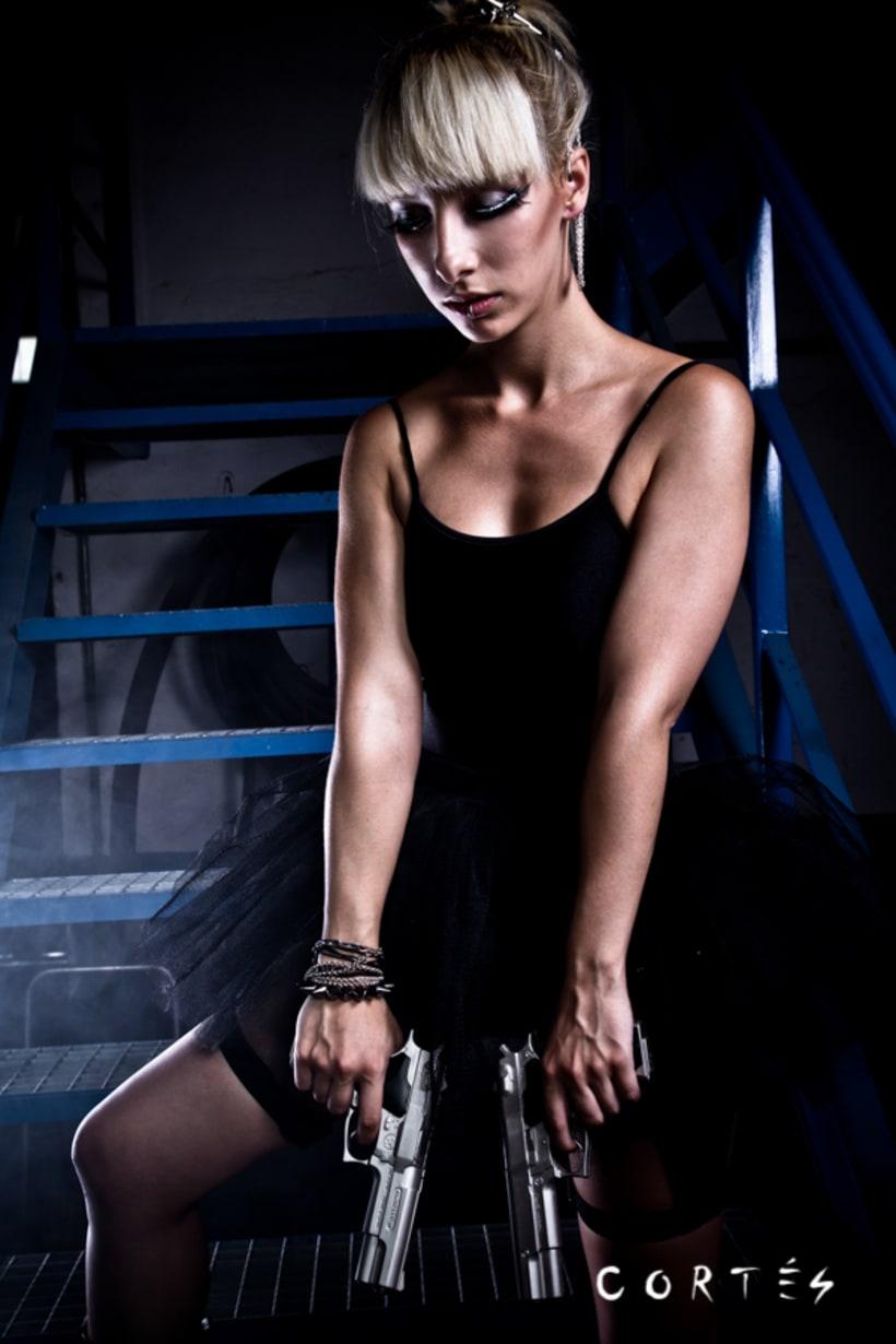 Sesión Black Dance con Fernando Cortés y Yuki Hime model 0