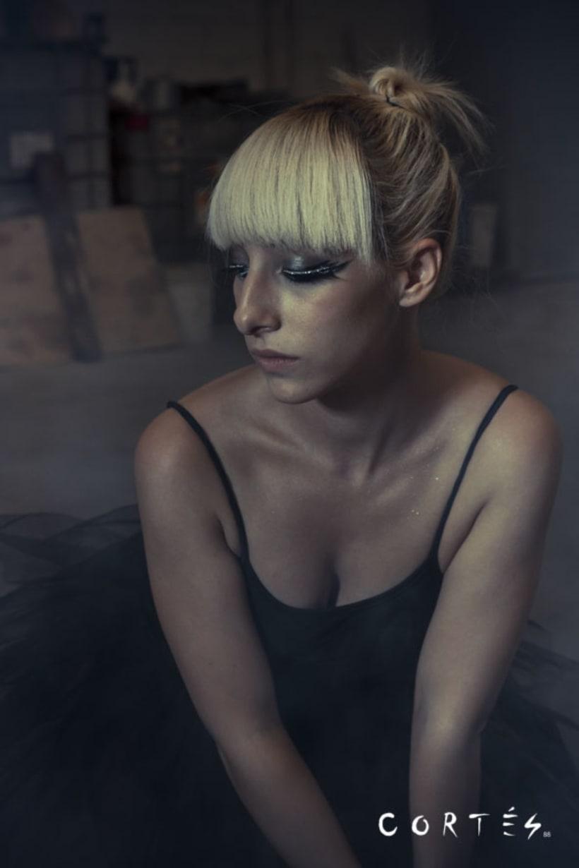Sesión Black Dance con Fernando Cortés y Yuki Hime model 1