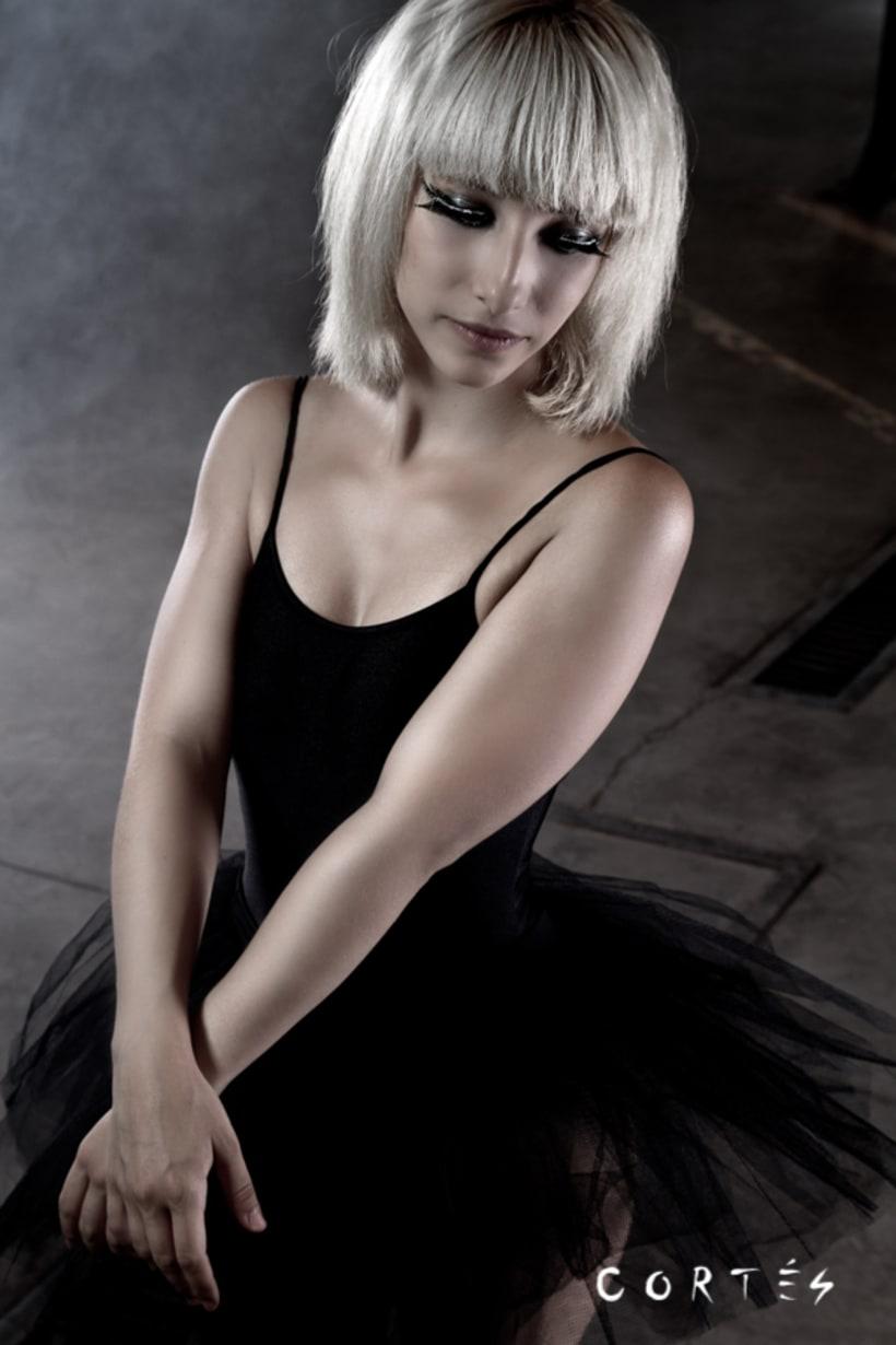 Sesión Black Dance con Fernando Cortés y Yuki Hime model 3