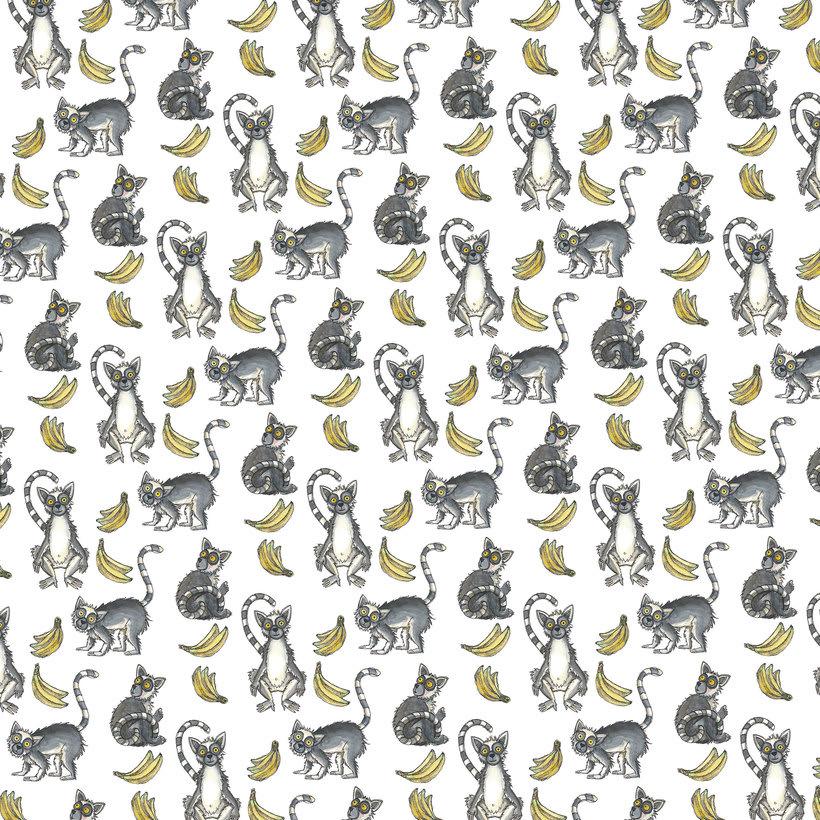 Lemurs & bananas -1