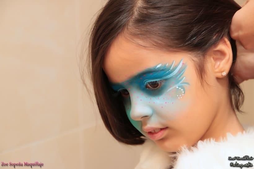 Maquillaje infantil / Comercial con niños 0