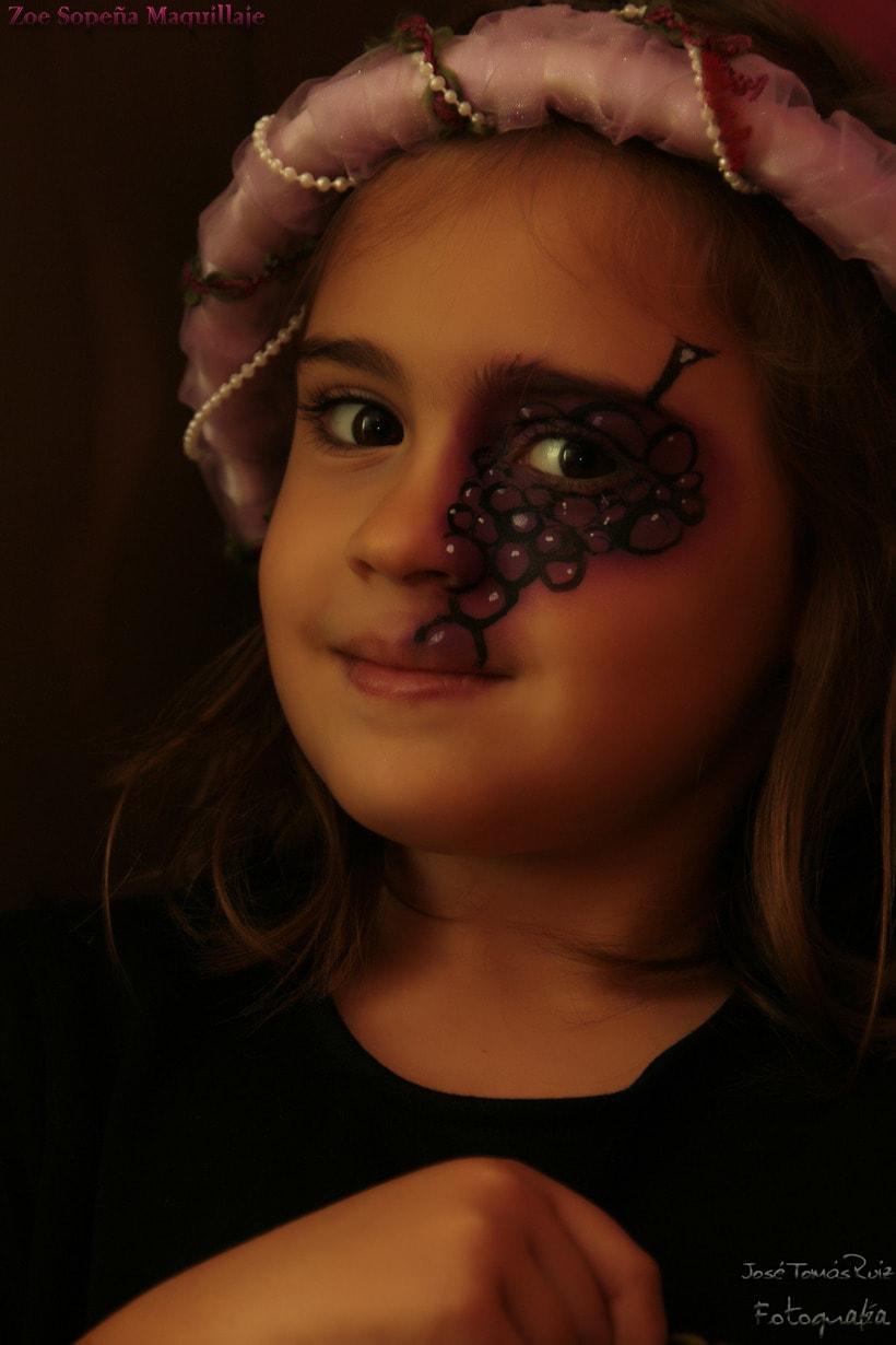 Maquillaje infantil / Comercial con niños 2
