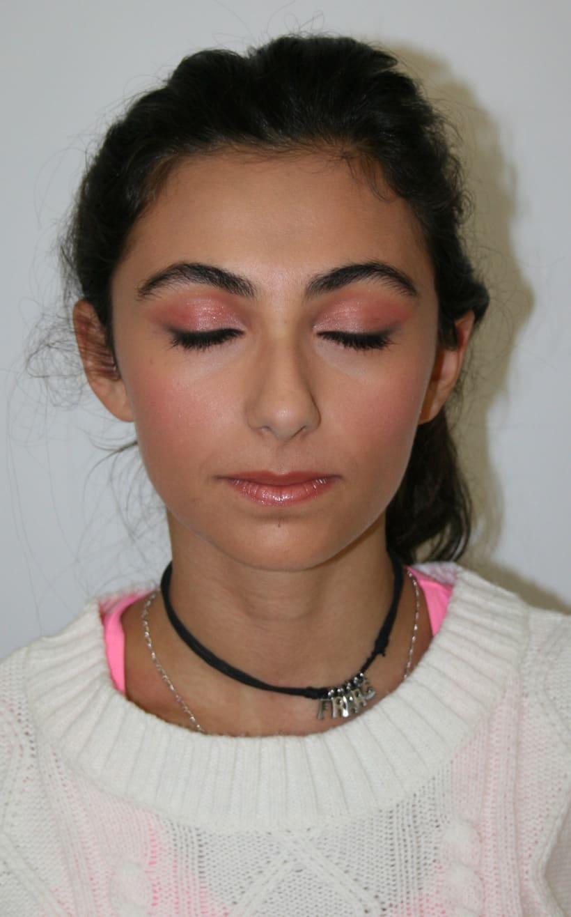 ARTERELA, Maquillaje natural / social 1
