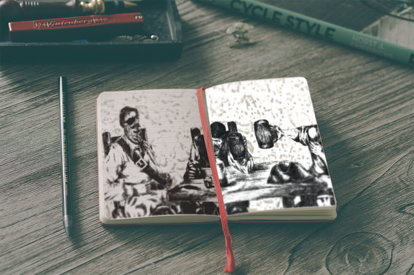 "Ilustraciones libro ""Vaya Pirata"" 1"