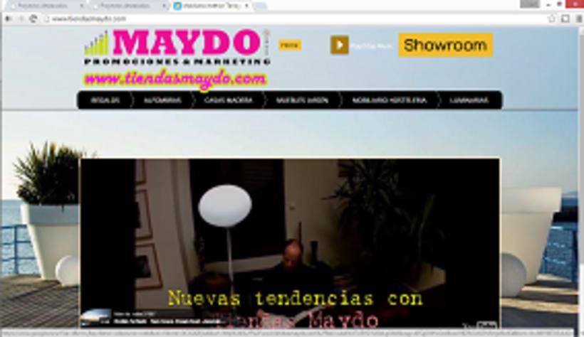 Pagina web  Tiendas Maydo 0