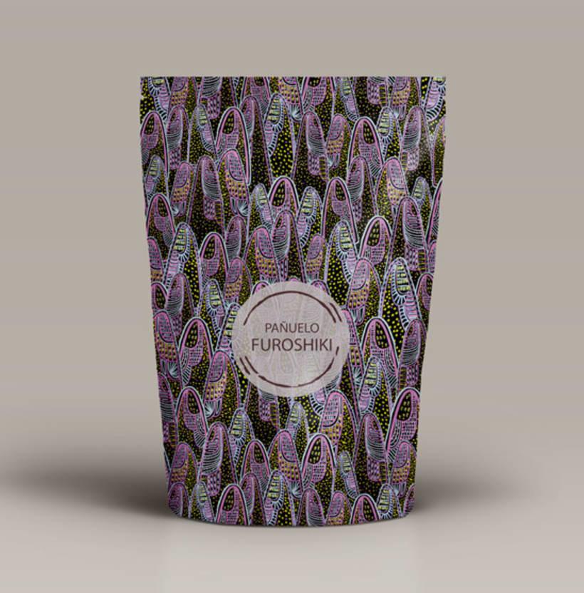 Proyecto Envoltorio y Pañuelo Furoshiki 1