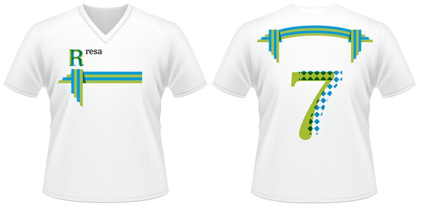 Diseño gráfico - Torneos deportivos Resa 4