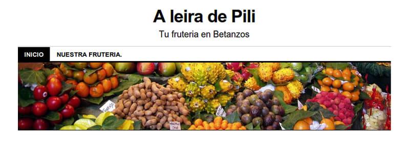 Recetario para clientas de frutería. 0