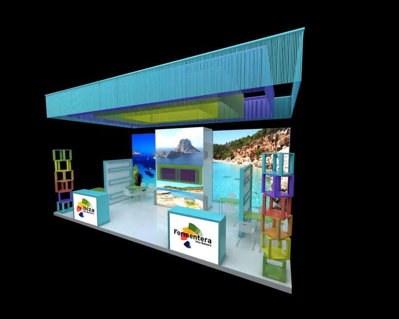 Propuesta Design Stand Ibiza / Formentera Berlin 2014 0