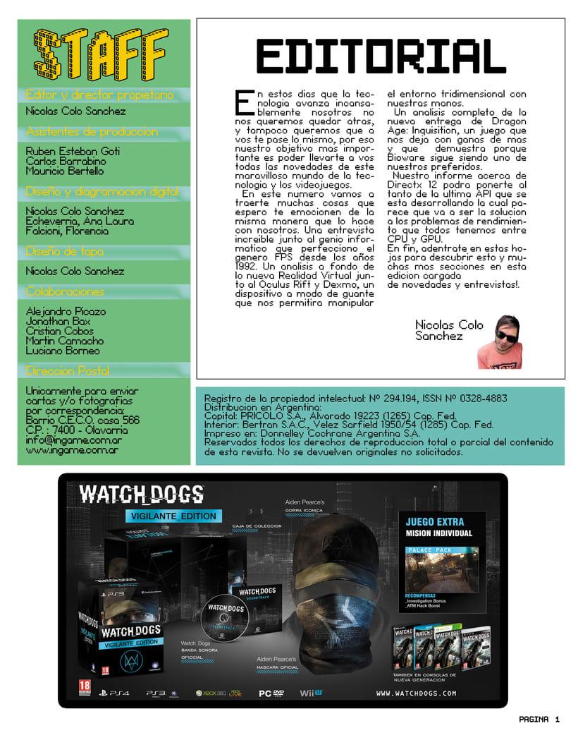 "Videogames Magazine - Revista de videojuegos ""INGAME"" 0"