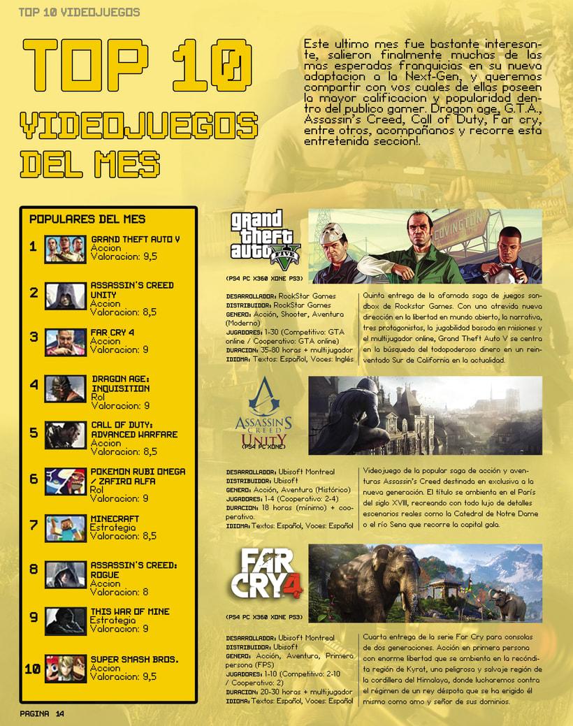 "Videogames Magazine - Revista de videojuegos ""INGAME"" 11"