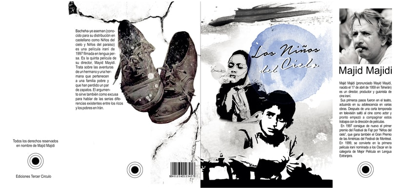 Movie Book Children of Heaven - Libro de pelicula 0