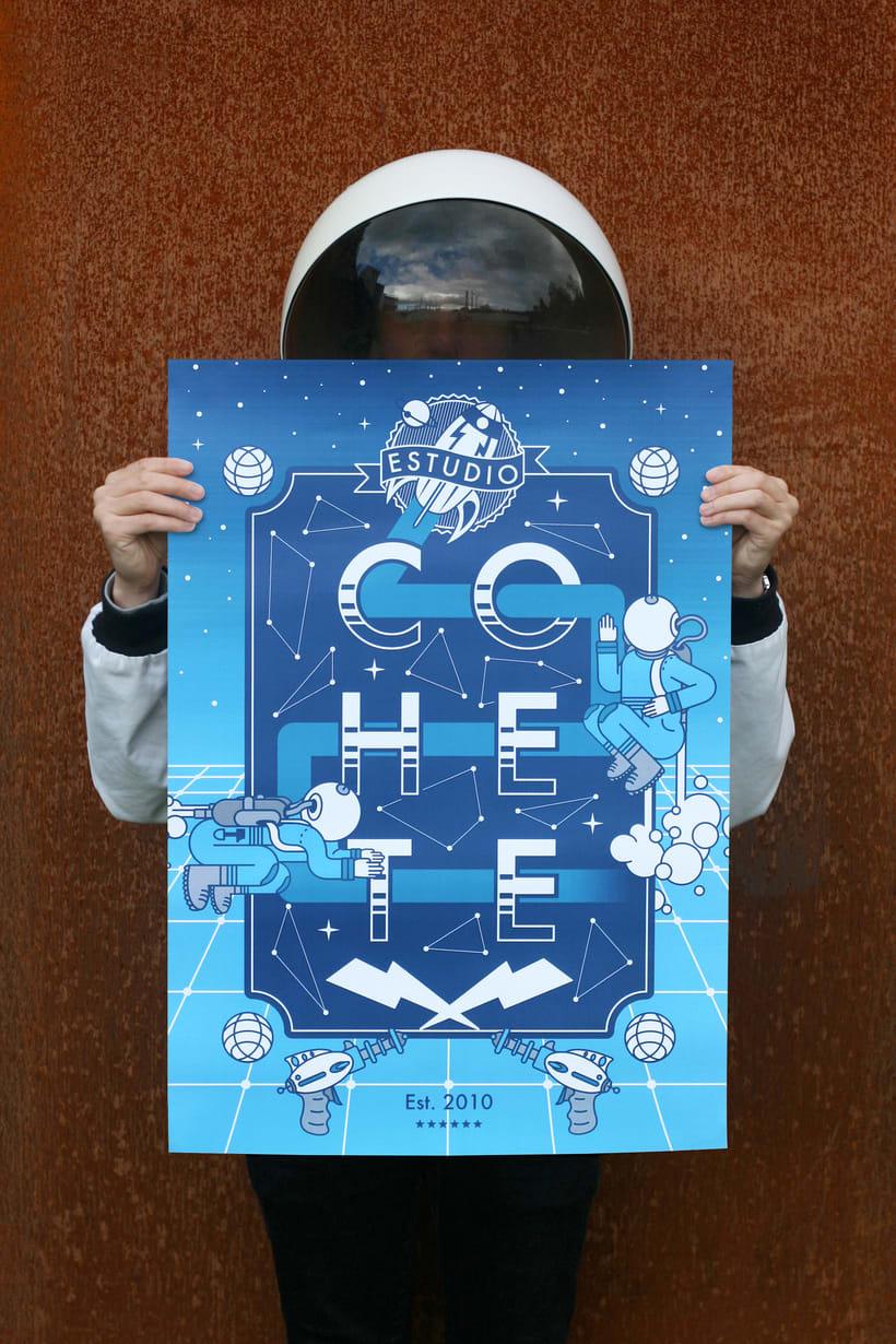 Cohete Poster 1