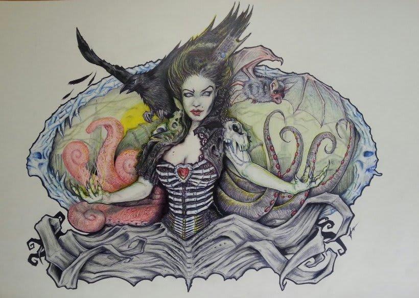 Zombie Queen -1