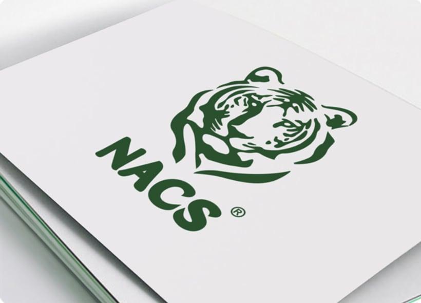 Diseño de logotipo para Nacs, una organización catalana sin ánimo de lucro cuyo objetivos son la protección y conservación de los animales a nivel comarcal, nacional e internacional. -1