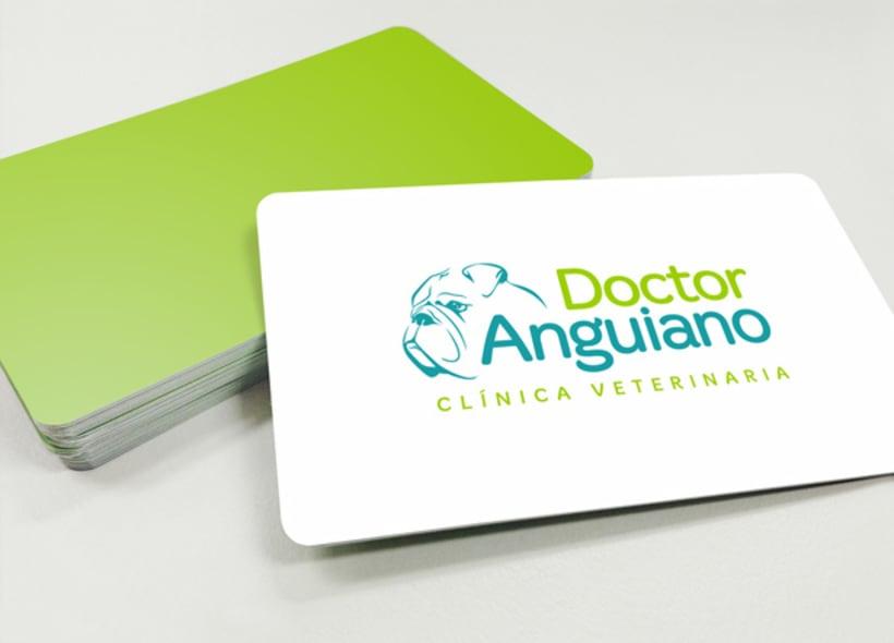 """Rediseño de logotipo para """"Doctor Anguiano"""" una clínica veterinaria mexicana especializada en cirugía ortopédica y traumatología. -1"""