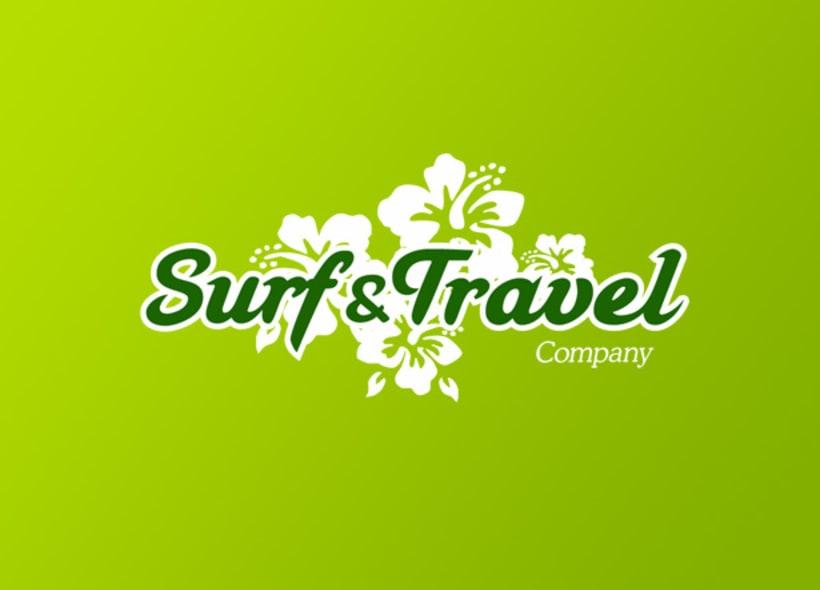 Surf & Travel Company es una web que ofrece servicios globales relacionados con el mundo del surf: escuelas, cursos, campamentos, etc... Nuestro cliente buscaba una imagen fresca y desenfadada que evocase la idea de vacaciones. -1