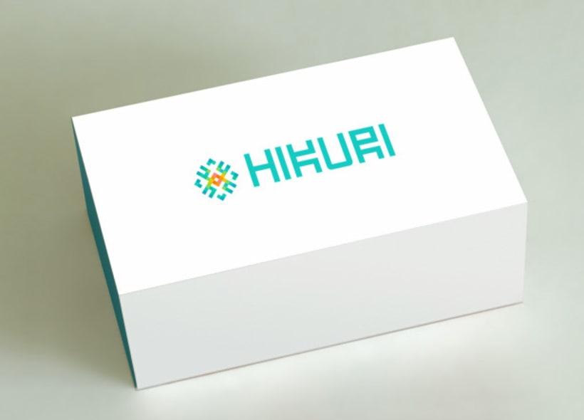 """Logotipo para """"Hikuri"""", una firma mexicana de zapatos, bolsos y complementos realizado con las técnicas y diseños del arte """"huichol"""" mexicano. 0"""