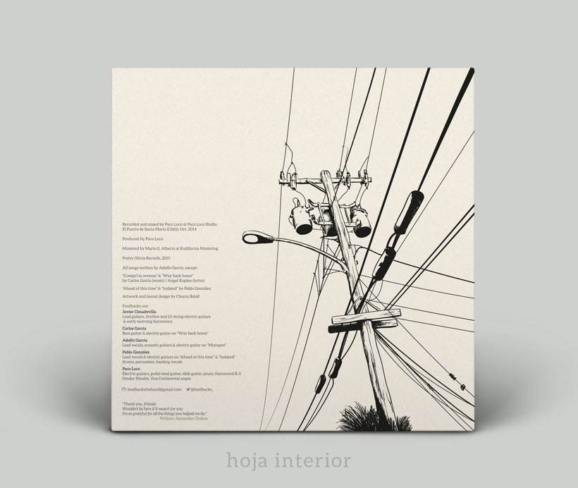 Feedbacks · Skyway Blvd. (CD/LP) -1