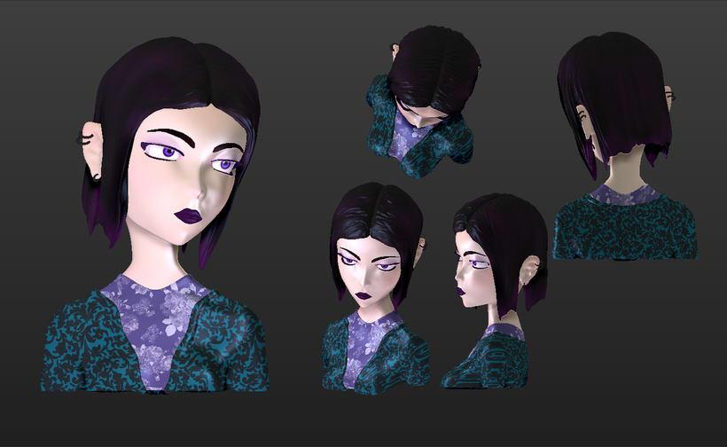 Mi Proyecto del curso Modelado de personajes en 3D 1
