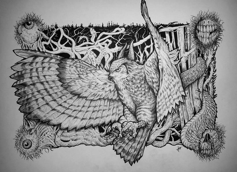Demon Owl -1