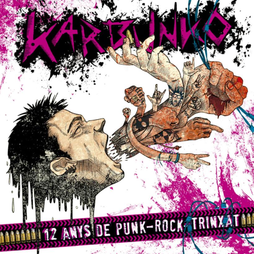 """Karbunko. """"12 anys de Punk-Rock-Trinxat"""" -1"""
