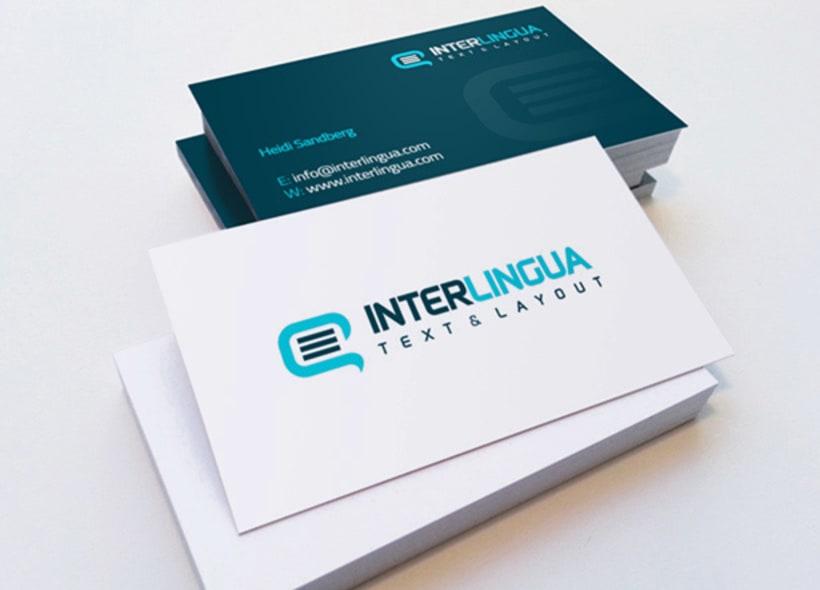 Interlingua Text & Layout es una empresa sueca que ofrece servicios de traducción de textos entre sueco, finés, inglés y español. -1