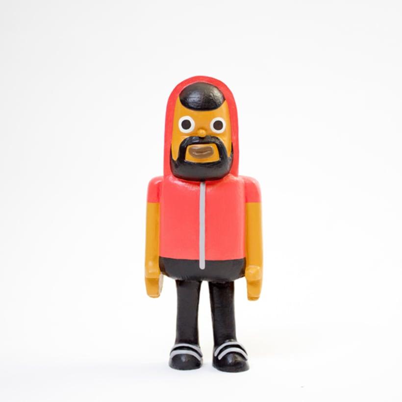 CARLOS JEAN - Art Toy 2