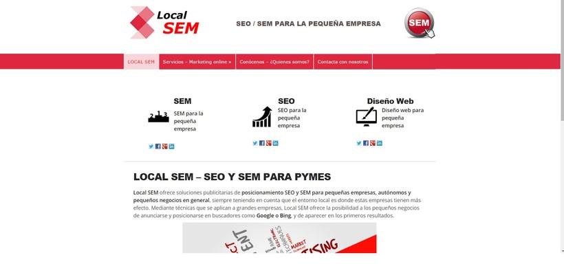 Diseño / Posicionamiento SEO/SEM - localsem.es -1