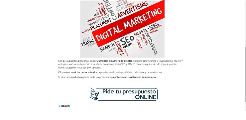 Diseño / Posicionamiento SEO/SEM - localsem.es 0