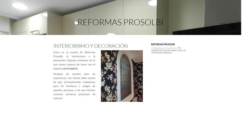Reformas Prosolbi - Diseño - Posicionamiento SEM 1