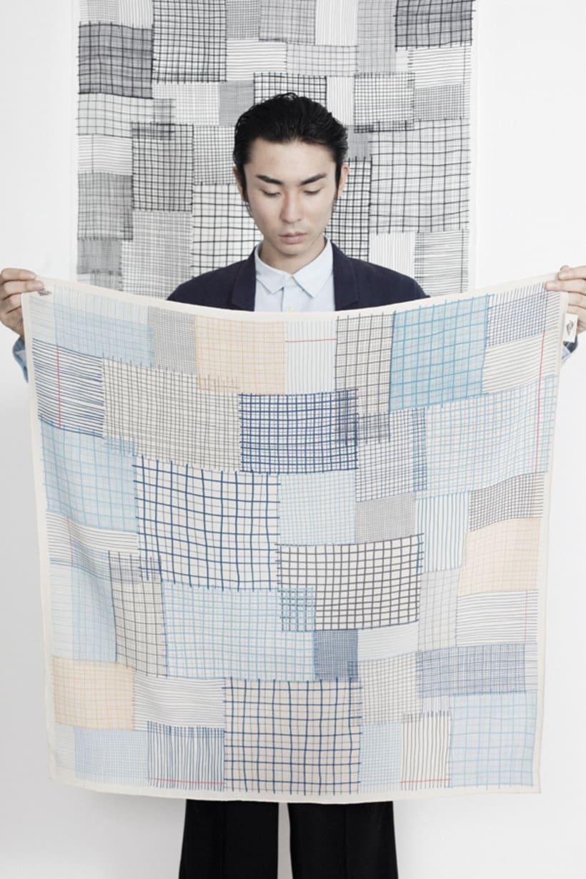 Pattern design for SuTurno 8