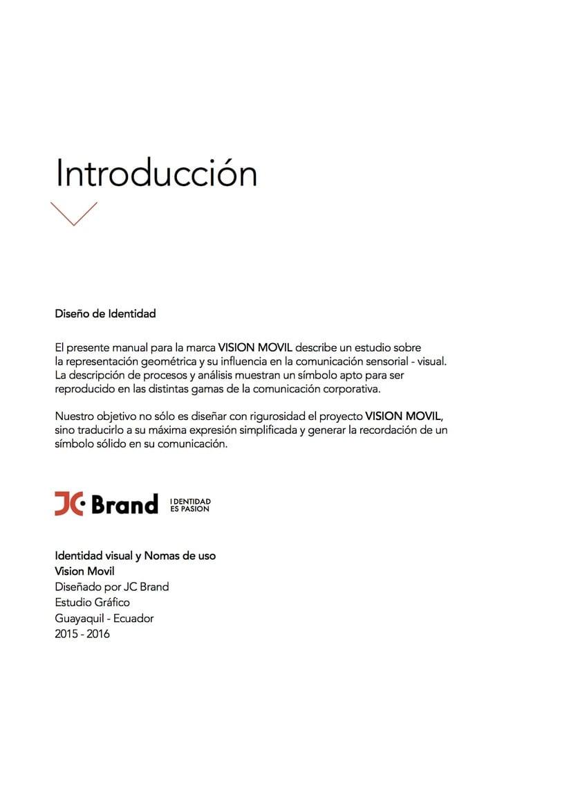 VISIONMOVIL   Proyecto del curso Identidad corporativa bi y tridimensional 0