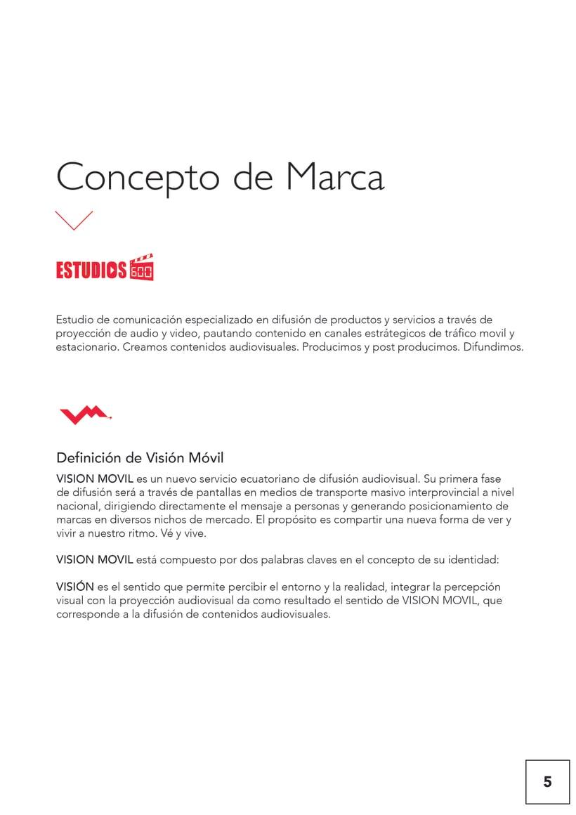 VISIONMOVIL   Proyecto del curso Identidad corporativa bi y tridimensional 6