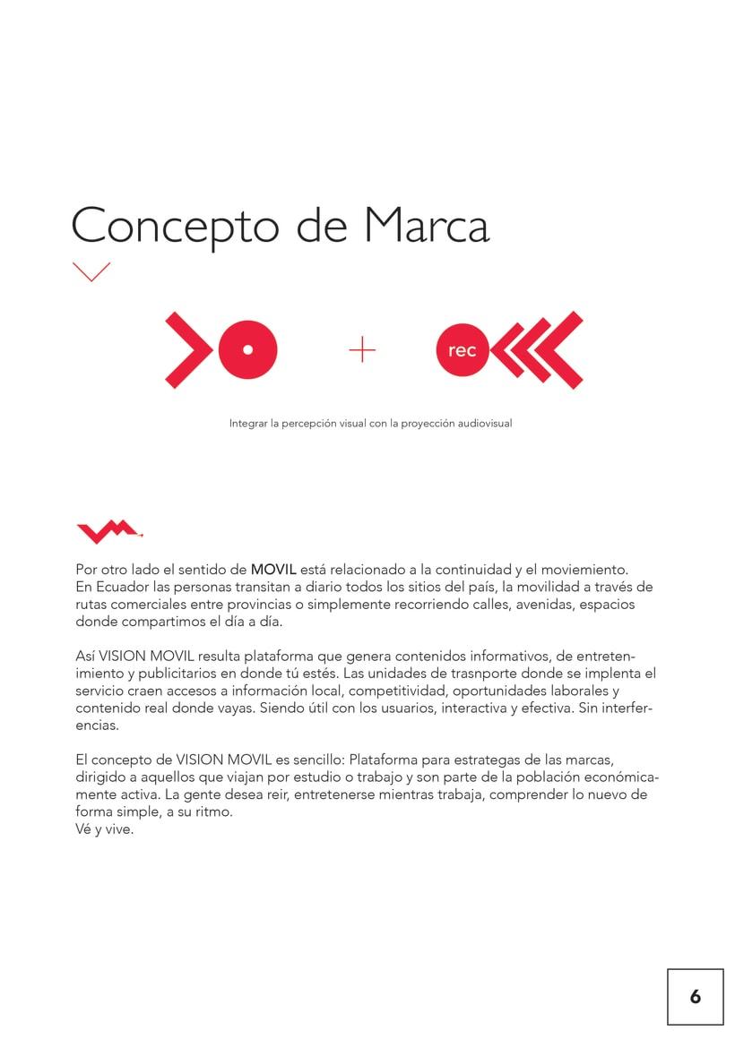 VISIONMOVIL   Proyecto del curso Identidad corporativa bi y tridimensional 7
