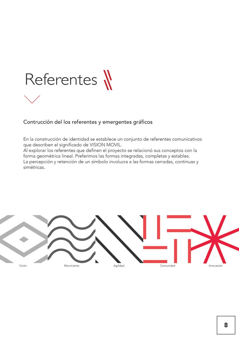 VISIONMOVIL   Proyecto del curso Identidad corporativa bi y tridimensional 9