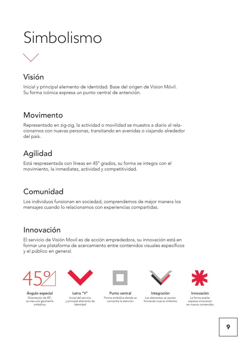 VISIONMOVIL   Proyecto del curso Identidad corporativa bi y tridimensional 10