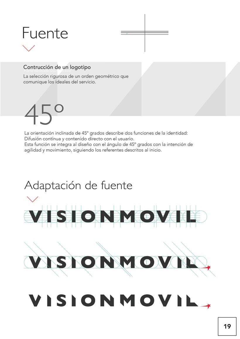 VISIONMOVIL   Proyecto del curso Identidad corporativa bi y tridimensional 20