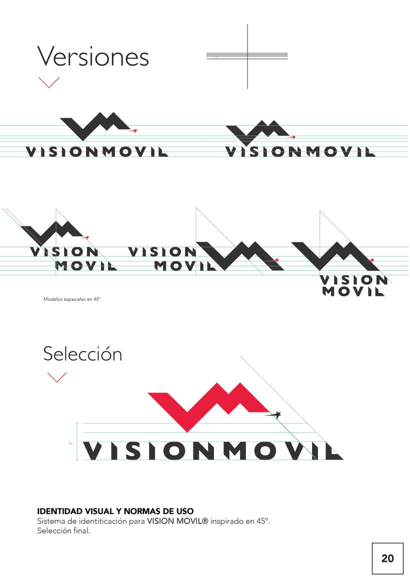 VISIONMOVIL   Proyecto del curso Identidad corporativa bi y tridimensional 21