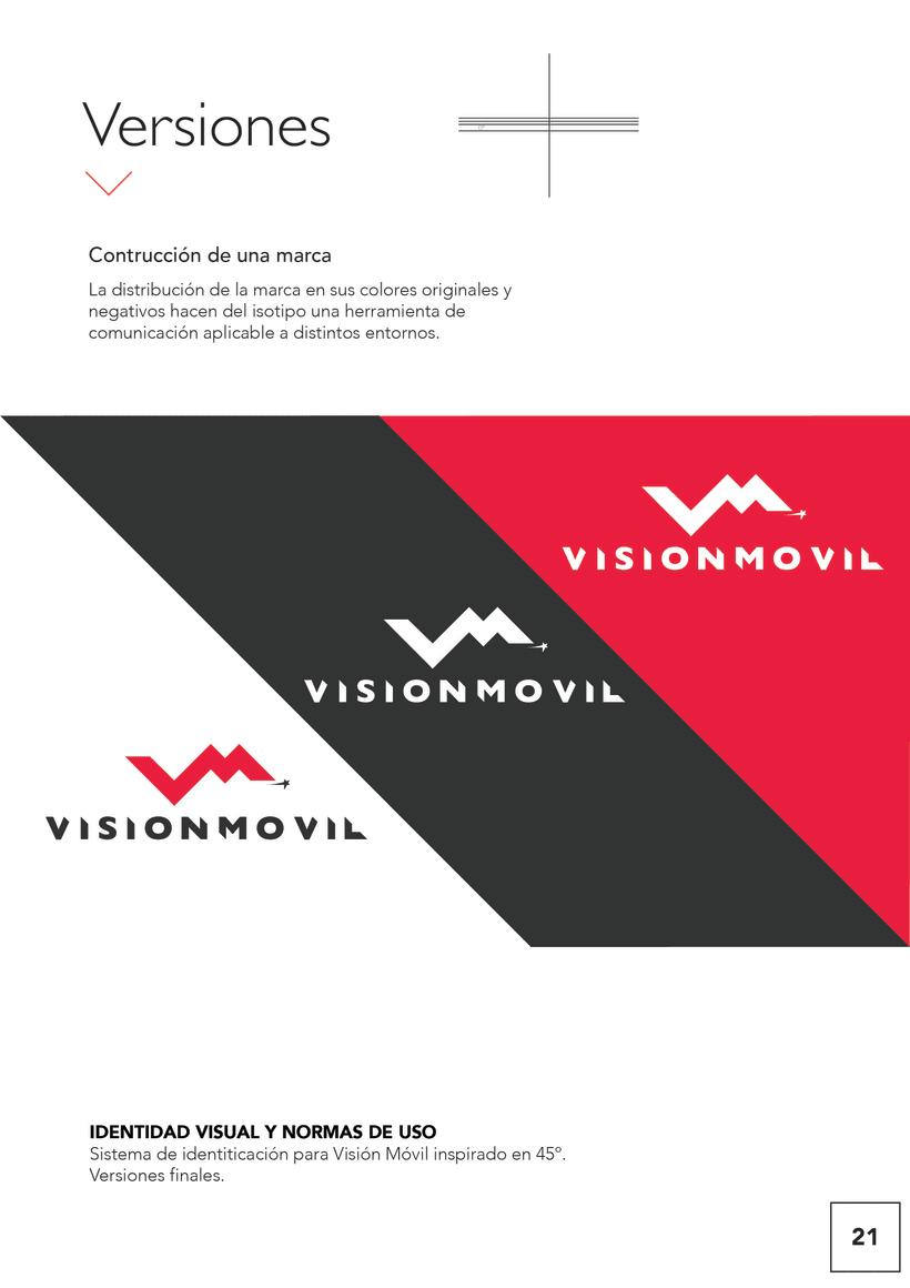 VISIONMOVIL   Proyecto del curso Identidad corporativa bi y tridimensional 22