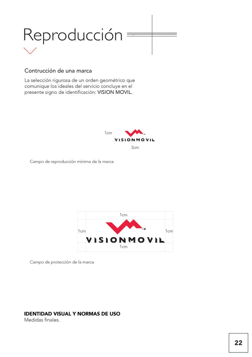 VISIONMOVIL   Proyecto del curso Identidad corporativa bi y tridimensional 23