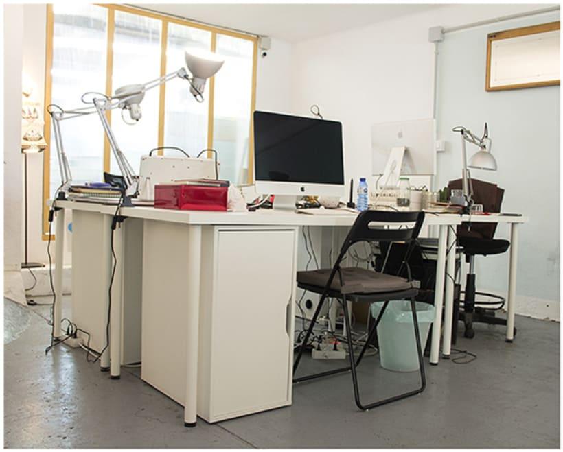 Espacio de Coworking para Diseñadores e Ilustradores, en Gracia, BCN 6