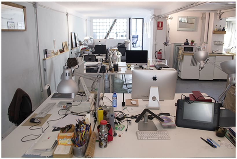 Espacio de Coworking para Diseñadores e Ilustradores, en Gracia, BCN 7