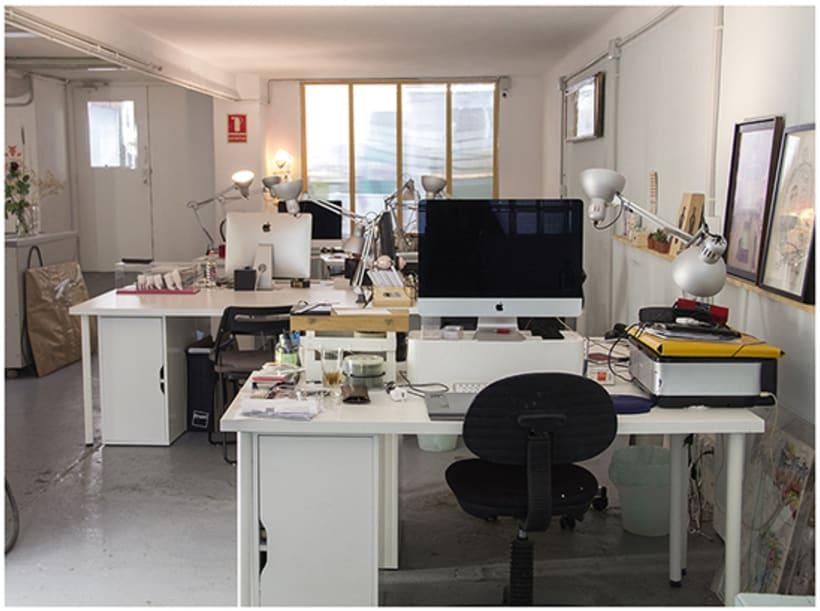 Espacio de Coworking para Diseñadores e Ilustradores, en Gracia, BCN 9