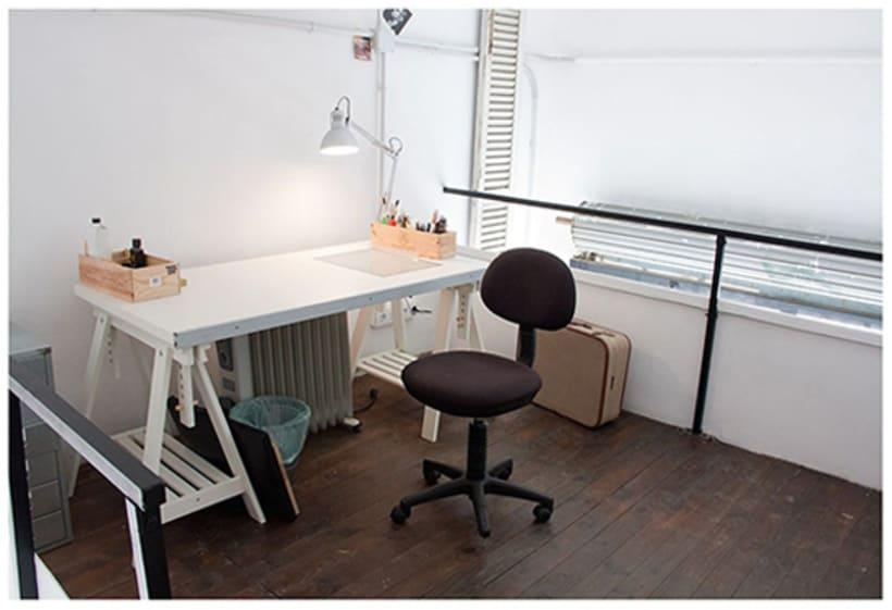 Espacio de Coworking para Diseñadores e Ilustradores, en Gracia, BCN 11